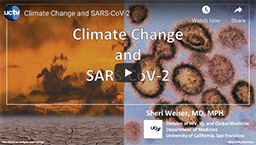 Climate Change and SARS CoV-2